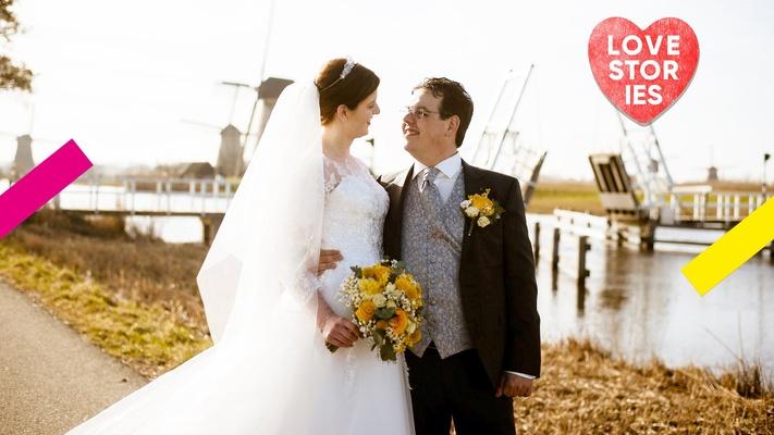 """Louise en Jaco schelen tien jaar en zijn na een paar maanden getrouwd: """"Mensen reageren geschrokken"""""""
