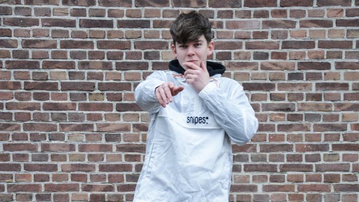 """Jesse (20): """"Dankzij corona kwam mijn droom om muziek te maken uit"""""""