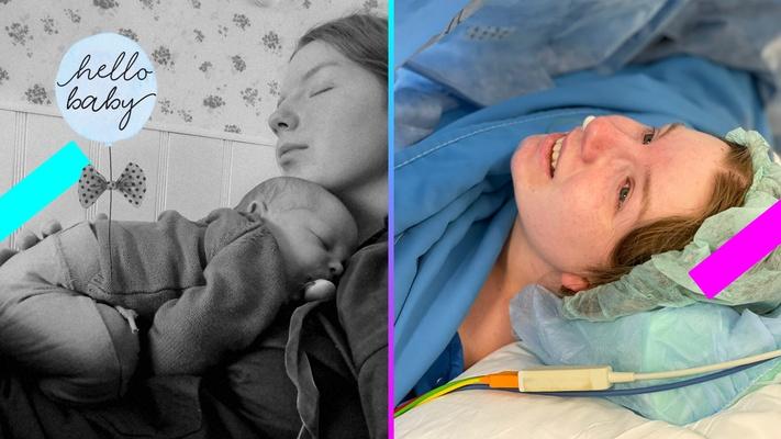 """Laura (20) werd een maand geleden moeder: """"Ik zie Gods hand terug in die verschrikkelijke bevalling"""""""