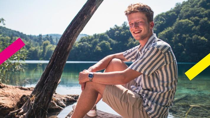 Joshua (20) leerde van zichzelf houden: 'Ik ben nog nooit zo gelukkig geweest als nu.'