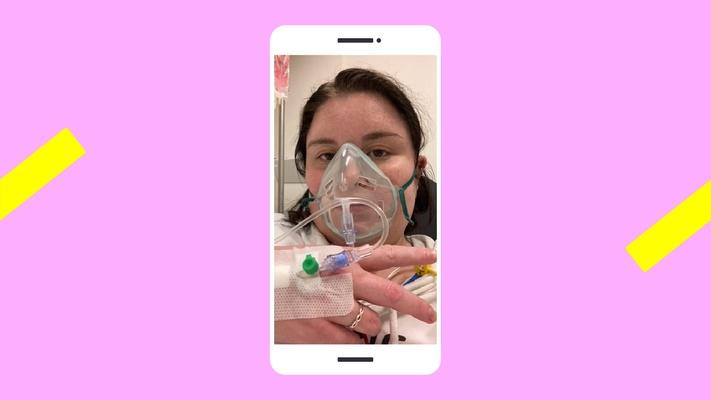 """Nynke (19) lag met corona in het ziekenhuis: """"Ik was mijn geloof daar helemaal kwijt"""""""