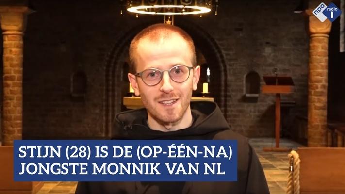 """Stijn (28) leeft als monnik in een klooster: """"Hier kan ik 100 procent mezelf zijn."""""""