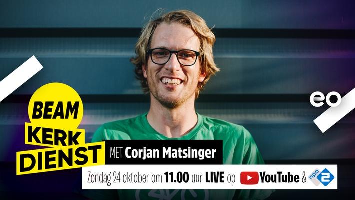LIVE | BEAM Kerkdienst met Corjan Matsinger én popmuziek